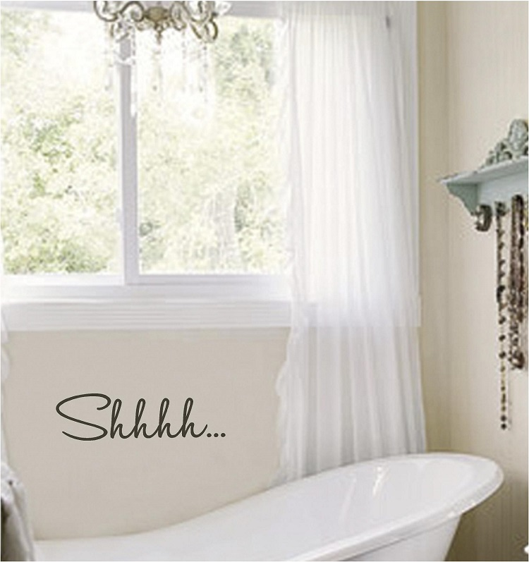 Wall Quotes Bathroom Quotes Vinyl Wall Quotes