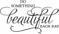 Do Something Beautiful