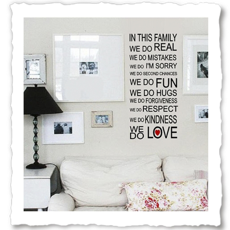 family wall quotes vinyl wall quotes quotes about family family quotes wall decals quotesgram