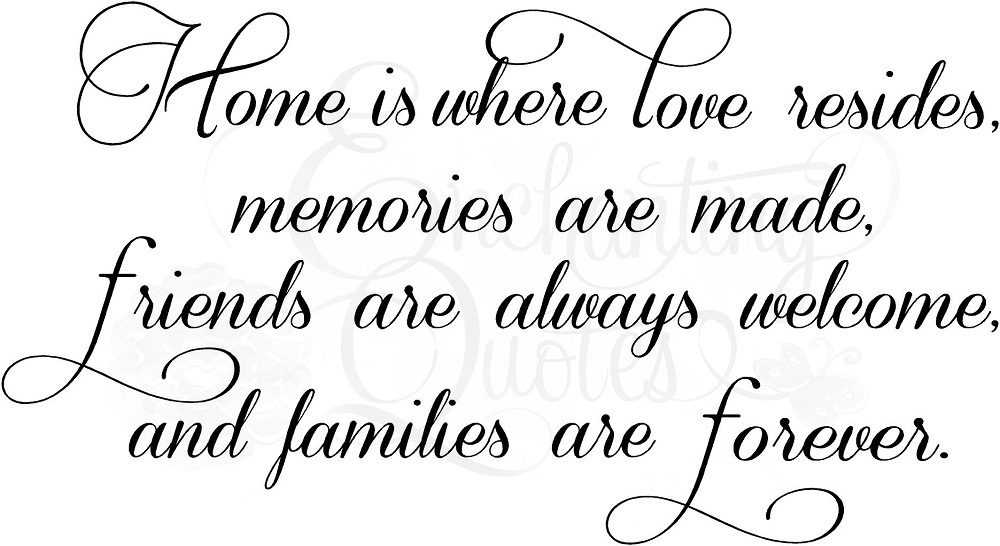 quotes about home and love - photo #45
