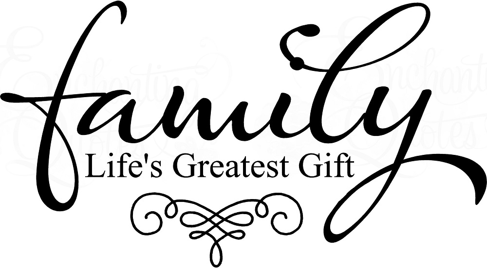 family quotes vinyl wall decals   family life s greatest