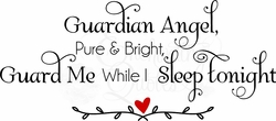 Nursery Wall Decals - Guardian Angel