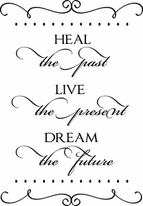 Dream the Future Vinyl Wall Decals