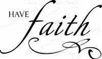 Religious Quotes - Have Faith
