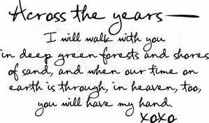 Love Quotes - Across the Years
