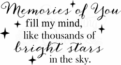 Memorial Quotes - Memories of You