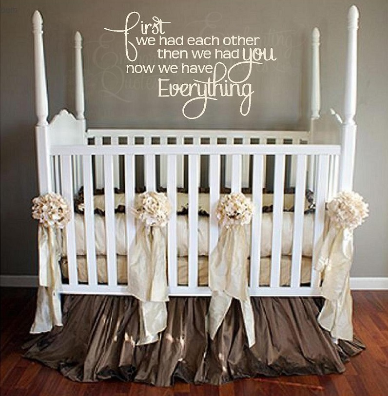 Nursery Wall Quotes Vinyl Wall Quotes Sleeping Baby Decals