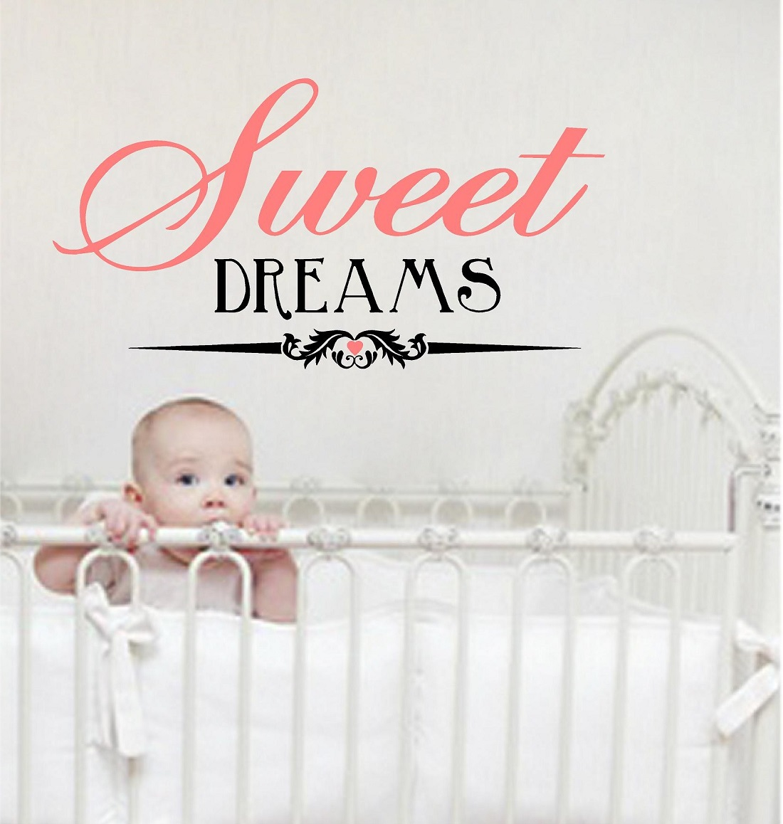 sweet dreams wall quotes baby girl quotes baby boy words