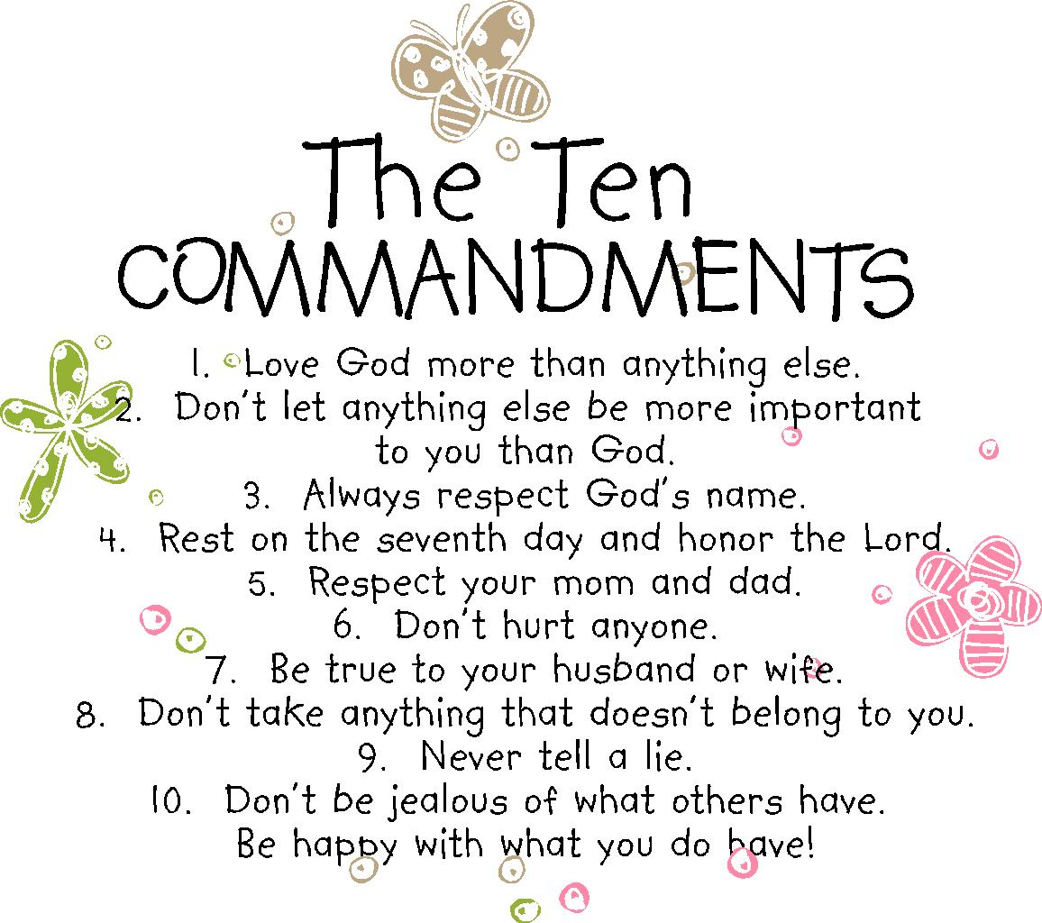 10 Commandments List So4j Tv So4j Com Pictures to pin on Pinterest