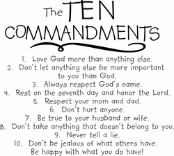 The Ten Commandments (Child)