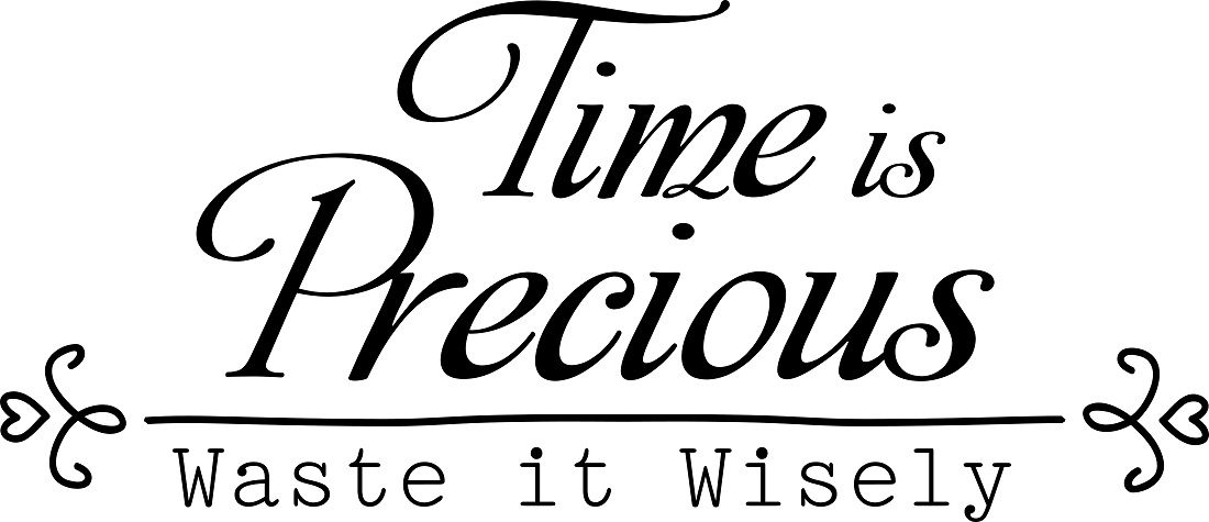 An essay on time is precious...?