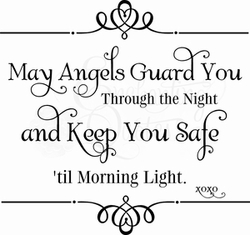 Vinyl Ready Quote - Angels Guard