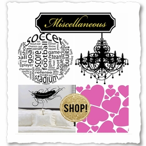 Miscellaneous Wall Quotes & Accents