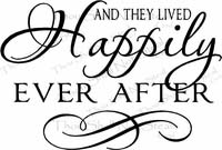 Love Quotes - And They Lived Happily Ever After