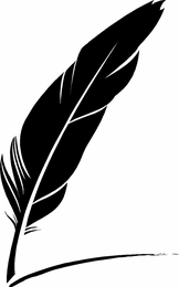 Feather Pen Vinyl Wall Art