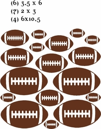 Football Vinyl Wall Stickers