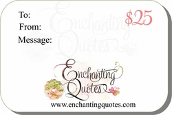 Wall Quote Gift Cards (Digital/Email)