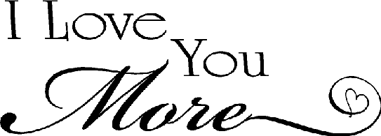 vinyl wall quotes quotes on love i love you more saying