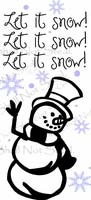 Snowman - Let It Snow!