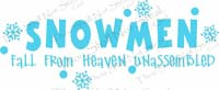 Snowmen Fall From Heaven