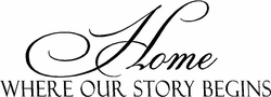 Family Wall Sayings - Home Story