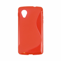 Google Nexus 5 Soft Case - Red
