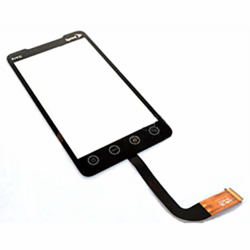 HTC Evo 4G Touch Screen Digitizer Glass Replacement