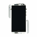 HTC One (M8) LCD & Touch Screen Assembly with Frame - Glacial Silver