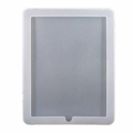 iPad White Silicon Case