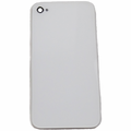 iPhone 4 Back Cover Glass with GSM Frame - White