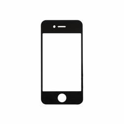 iPhone 4 Glass Lens Replacement - Black
