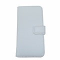 iPhone 5/5S Leather Case With Wallet - White