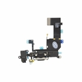 iPhone 5s Dock Port & Headphone Jack Assembly - Black