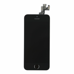 iPhone 5s LCD & Touch Screen Assembly with Small Parts - Black
