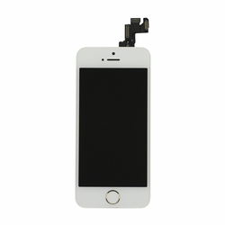 iPhone 5s LCD & Touch Screen Assembly with Small Parts - White/Gold