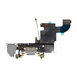 iPhone 6s Dock Port & Headphone Jack Flex Cable Replacement - Black