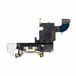 iPhone 6s Dock Port & Headphone Jack Flex Cable Replacement - White