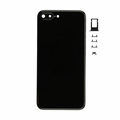 iPhone 7 Plus Rear Case Replacement - Jet Black (Blank)