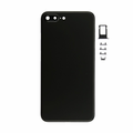 iPhone 7 Plus Rear Cover Replacement - Black (Blank)