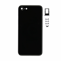 iPhone 7 Rear Cover Replacement - Jet Black (Blank)
