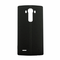 LG G4 Leather Back Battery Cover with NFC - Black