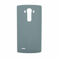 LG G4 Leather Back Battery Cover with NFC - Blue