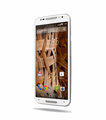 Motorola Moto X (2nd Gen) - White with Natural Bamboo Back & Silver Trim