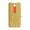 Motorola Moto X Pure Back Battery Cover Replacement - Bamboo (Wood)