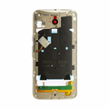 Motorola Moto X Pure Middle Frame Assembly Replacement - Gold