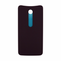 Motorola Moto X Style Back Battery Cover Replacement - Cabernet (Plastic)