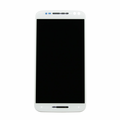 Motorola Moto X Style LCD & Touch Screen Assembly with Frame - White
