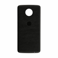 Motorola Moto Z Force Droid Back Cover - Black (Leather)