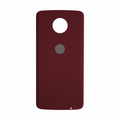 Motorola Moto Z Force Droid Back Cover - Crimson Ballistic (Nylon)