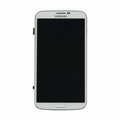 "Samsung Galaxy Mega 6.3"" LCD & Touch Screen with Frame - White (GSM)"